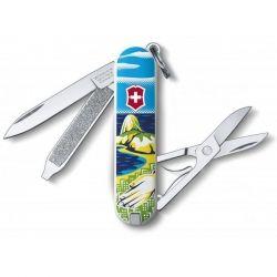 Canivete Victorinox Classic Edição Limitada Rio Tour 7 funções 5.8 cm 0.6223.RIO7