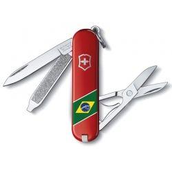 Canivete Victorinox Classic Edição Ltda Bandeira Nacional 7 funções 5.8 cm 0.6223.BR1