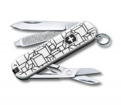 Canivete Victorinox Classic SD Cubic Illusion Edição Limitada 2021 0.6223.L2105