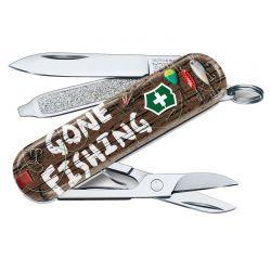 Canivete Victorinox Classic SD Gone Fishing Edição Limitada 2020 0.6223.L2005