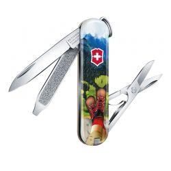 Canivete Victorinox Classic SD I Love Hiking Edição Limitada 2020 0.6223.L2002