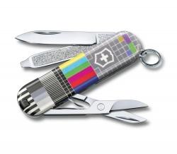Canivete Victorinox Classic SD Retro TV Edição Limitada 2021 0.6223.L2104