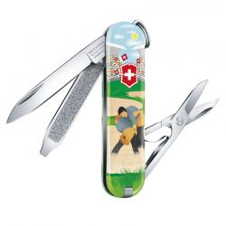 Canivete Victorinox Classic SD Swiss Wresting Edição Limitada 2020 0.6223.L2009