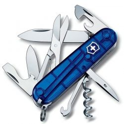 Canivete Victorinox Climber 14 funções azul translúcido 9.1 cm 1.3703.T2