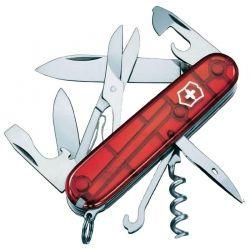Canivete Victorinox Climber 14 funções vermelho translucido 9.1 cm 1.3703.T