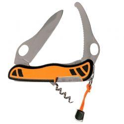 Canivete Victorinox Hunter XS laranja e preto 11 cm 0.8331.MC9
