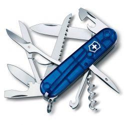 Canivete Victorinox Huntsman 15 funções azul translúcido 9.1 cm 1.3713.T2