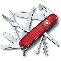 Canivete Victorinox Huntsman 15 funções vermelho translúcido 9.1 cm 1.3713.T