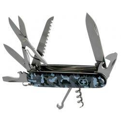 Canivete Victorinox Huntsman Navy Camuflado 15 funções 9,1 cm 1.3713.942