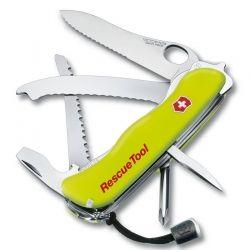 Canivete Victorinox Rescue tool fosforecente com bainha 12.2 cm 0.8623.MWN