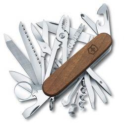 Canivete Victorinox Swisschamp 30 funções cabo de madeira 9.1 cm 1.6791.63