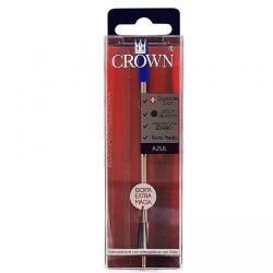Carga  Crown Azul Esferográfica padrão Cross CA12009A