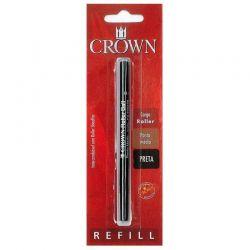 Carga  Crown Preta Rollerball padrão Sheaffer CA22007P