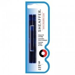 Cartucho Sheaffer para caneta tinteiro azul 96320