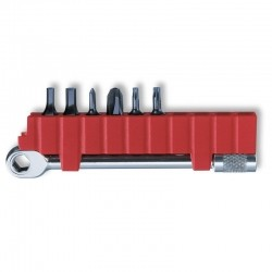 Conjunto Victorinox com catraca e chaves para Swisstool 3.0306