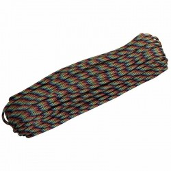 Corda de Nailon Paracord 550 Dark Stripes 30 metros ATP02