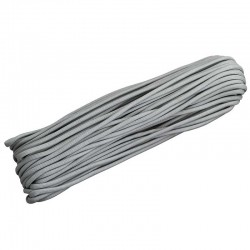 Corda de Nailon Paracord 550 Grey 30 metros ATS12