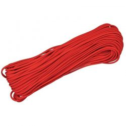 Corda de Nailon Paracord 550 vermelho 10 metros ATS03-10