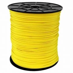 Corda de Nailon Paracord 550 Yellow por metro ATSS04