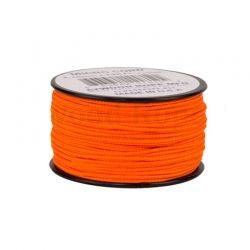 Cordão de Nailon Micro Cord Neon Orange 37 metros ATMS17