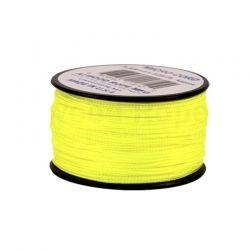 Cordão de Nailon Micro Cord Neon Yellow 37 metros ATMS19