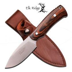 Faca Elk Ridge Bushcraft Dark Brown 19 cm ER551DW