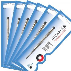 Kit com 6 Cargas Sheaffer K Azul  99325-6