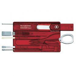 Swisscard Victorinox Classic vermelho translucido 0.7100.T