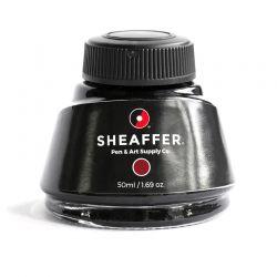 Vidro de Tinta Sheaffer Vermelha 50 ml 94241