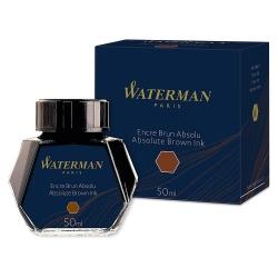 Vidro de Tinta Waterman Original Marrom 50 ml S0110830