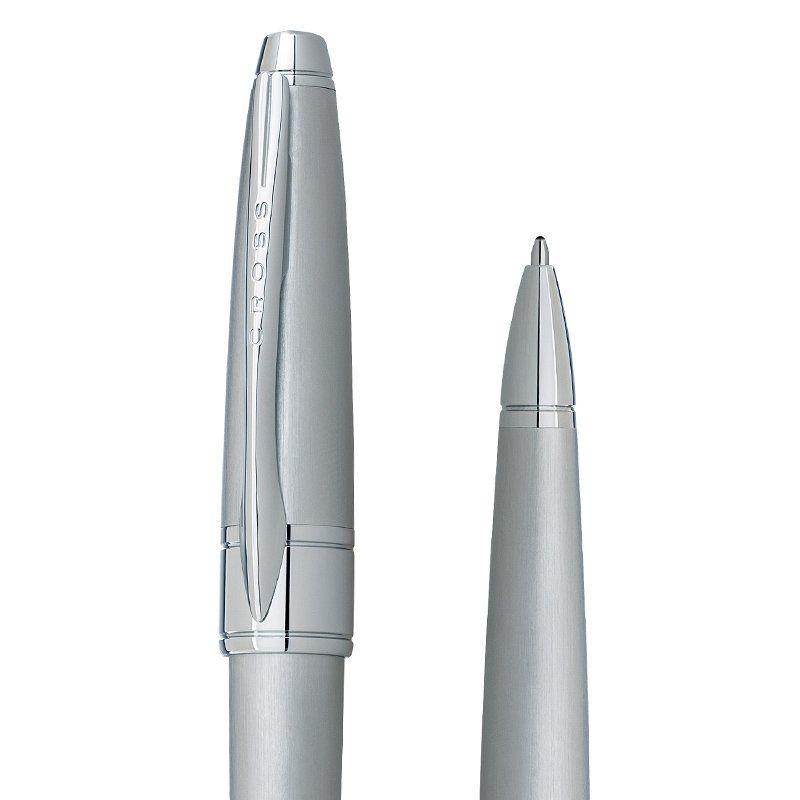 Caneta Cross Apogee Esferográfica Cromada Escovada AT0122-18