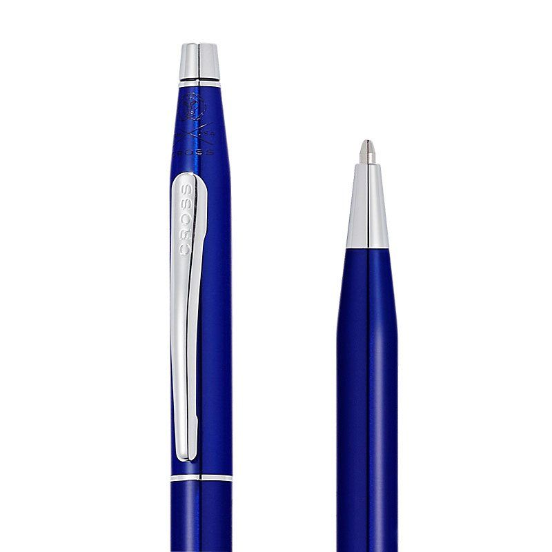 Caneta Cross Classic Century Esferográfica Laca Azul Translucida AT0082S-112