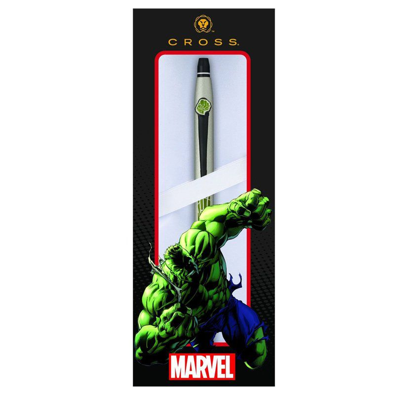 Caneta Cross Click Esferográfica Hulk Marvel AT0622S-127