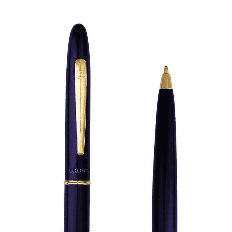 Caneta Crown Duty Esferográfica Azul YW11479A