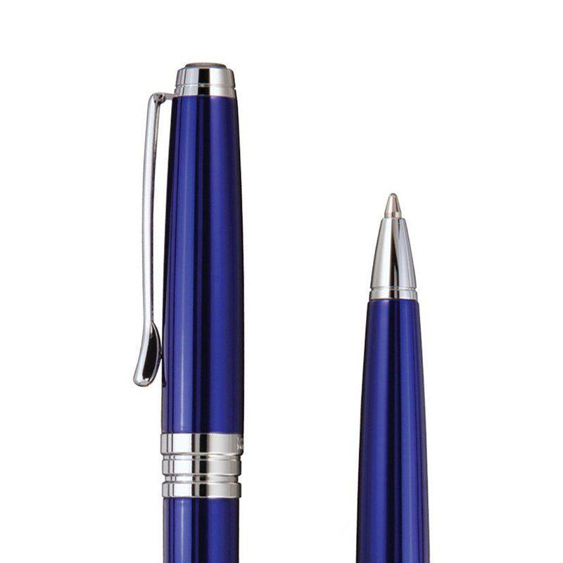 Caneta Crown Embaixador Esferográfica Azul YW10004A
