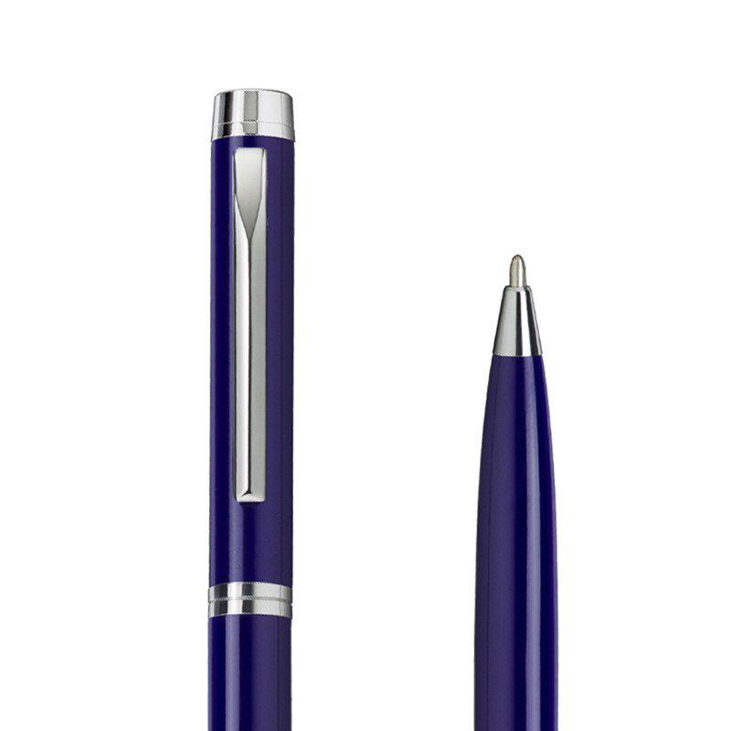 Caneta Crown Top M Esferográfica Azul YW10220A