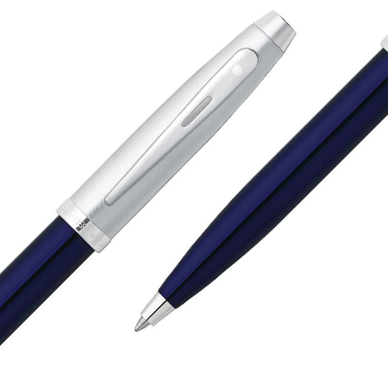 Caneta Sheaffer Gifty 100 Esferográfica Laca Azul e Escovado E2930851CS