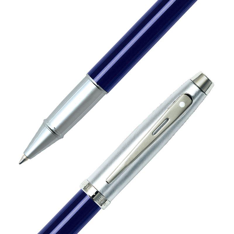 Caneta Sheaffer Gifty 100 Rollerball Laca Azul e Escovado E1930851CS