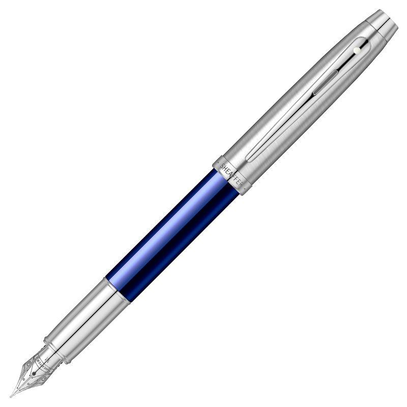 Caneta Sheaffer Gifty 100 Tinteiro Azul e Cromo E0930853-30