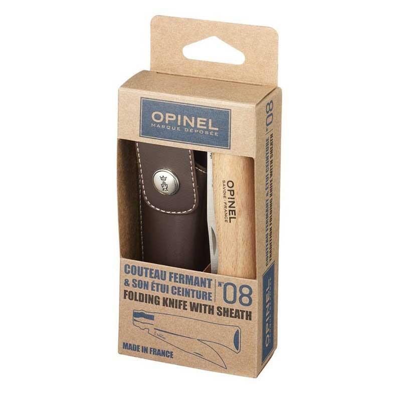 Canivete  Opinel Inox n° 8 com bainha OP01089