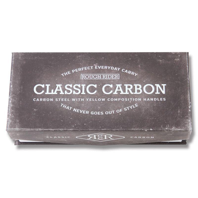 Canivete Rough Rider Bow Trapper Classic Carbono 10,2 cm RR1739