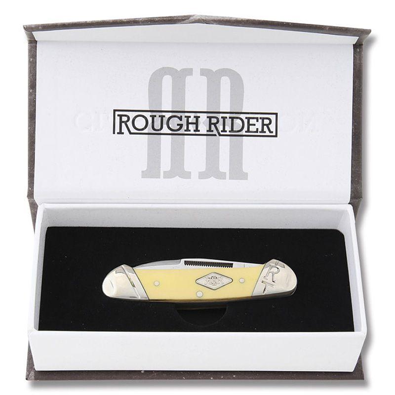 Canivete Rough Rider Canoe Classic Carbono 9,1 cm RR1736