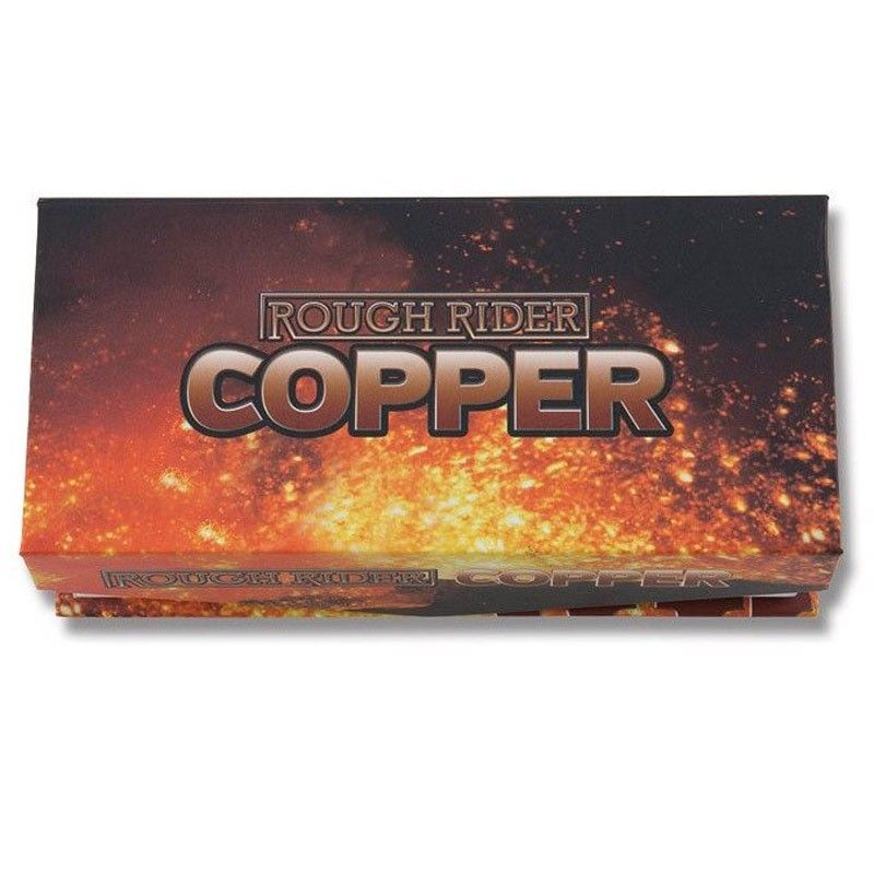 Canivete Rough Rider Copper Bolster Teardrop Jack 9.6 cm RR1676