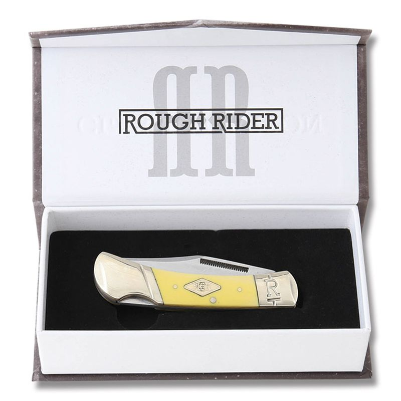 Canivete Rough Rider Lockback Classic Carbono 9,5 cm RR1738