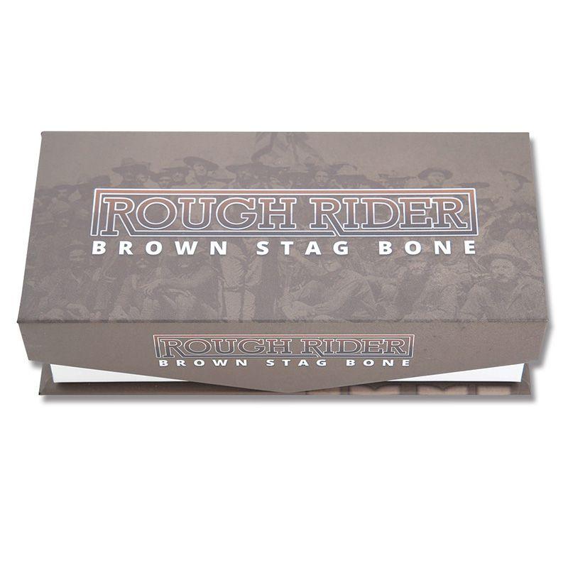 Canivete Rough Rider Moose Stag Bone 11 cm RR1800