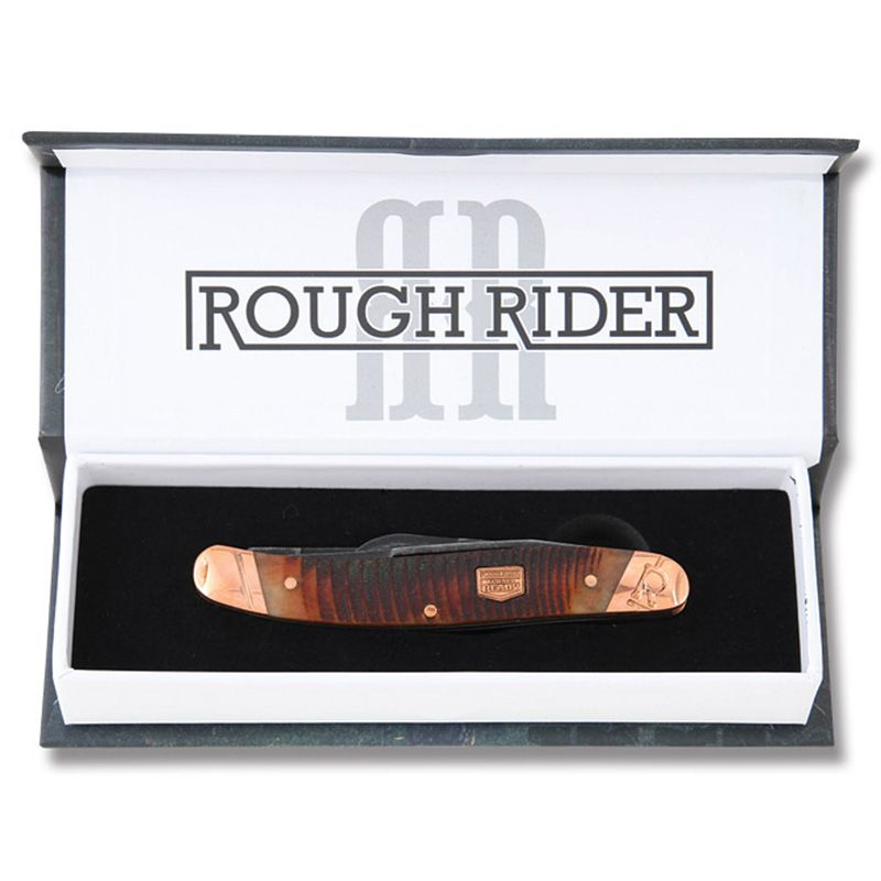 Canivete Rough Rider Stockman Backwoods Bushcrafter 8,9 cm RR1846