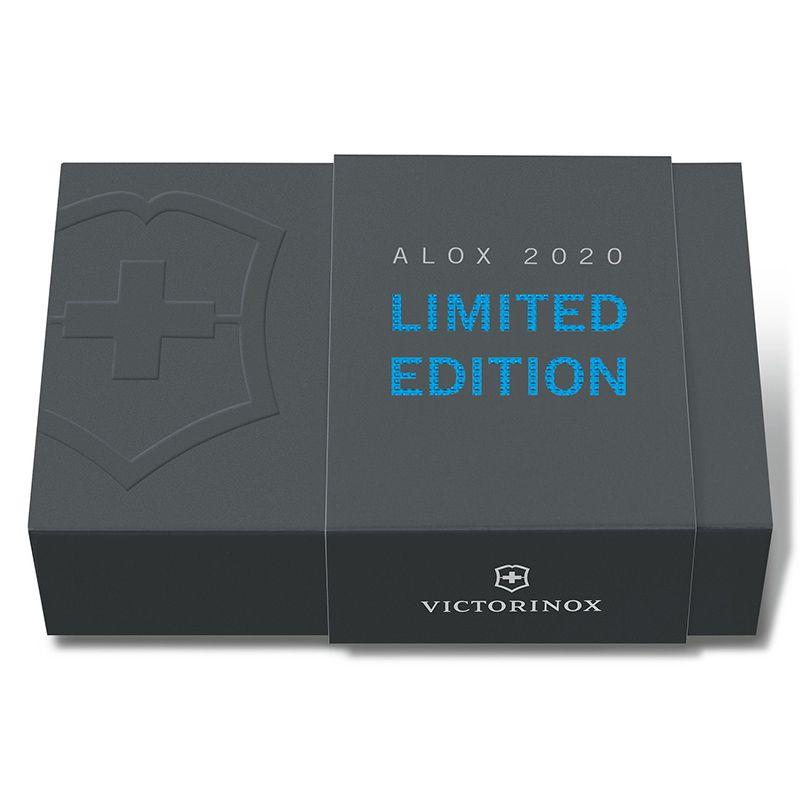 Canivete Victorinox Cadet Edição Limitada Alox 2020 Azul 8,4 cm 0.2601.L20