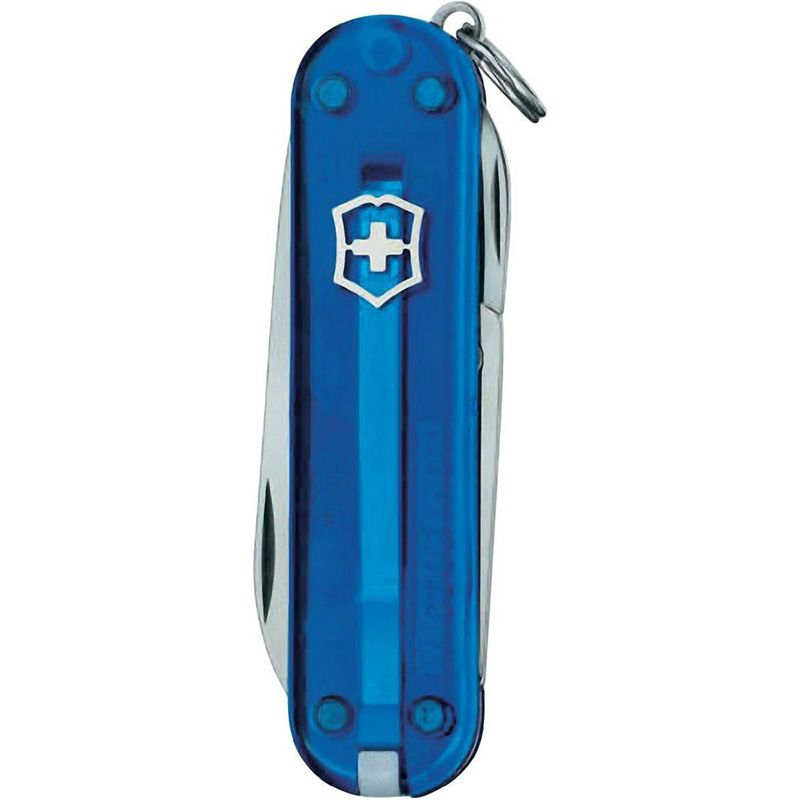 Canivete Victorinox Classic 7 funções azul translucido 5.8 cm 0.6223.T2