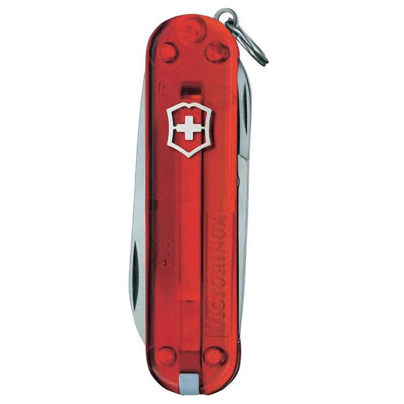 Canivete Victorinox Classic 7 funções vermelho translúcido 5.8 cm 0.6223.T