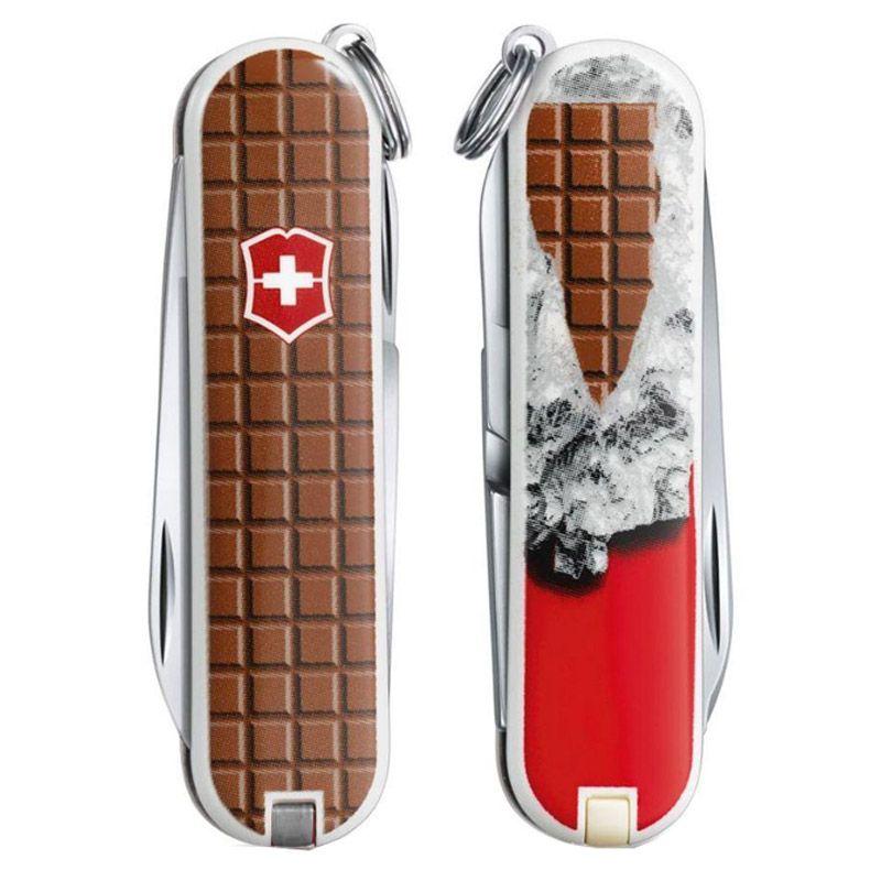 Canivete Victorinox Classic Chocolate Ed Ltda 7 funções 5.8 cm 0.6223.842